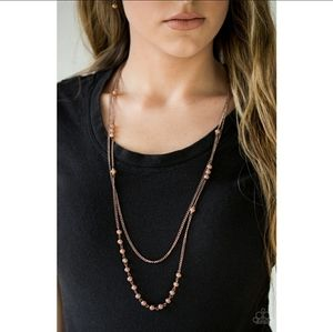 Rich With Glitz Necklace